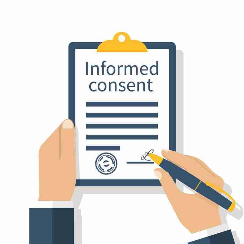 Consentimiento informado para una mamoplastia 1