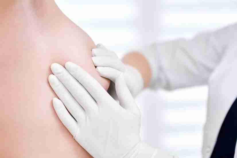 Exploración de mamas