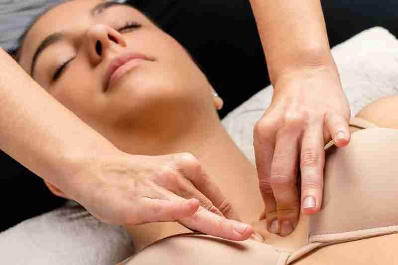 Drenaje linfático y mamoplastia