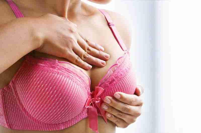 Sujetadores con aros en mamoplastia