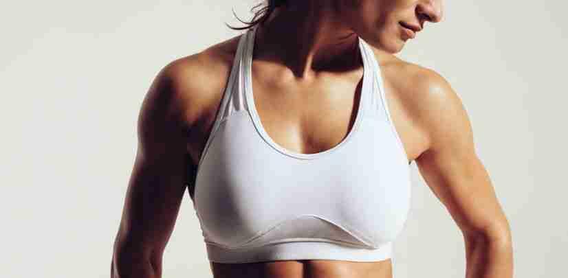 Sujetador en mamoplastia